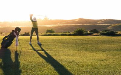 Kropp och knopp för golfspelare